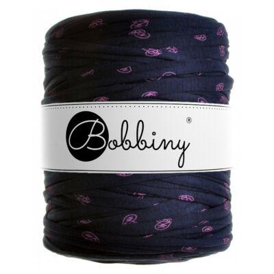 Bobbiny pólófonal-sötétkék lila szivecskés