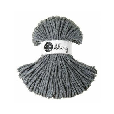 Bobbiny Premium Zsinórfonal 5 mm-  acélszürke - 100 m