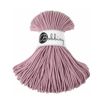 Bobbiny Zsinórfonal Junior 3 mm-  Dusty Pink  - 100 m