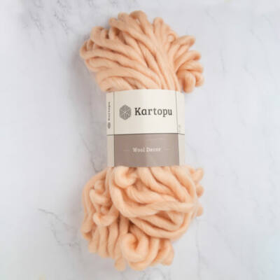 Kartopu Decor Wool 100% gyapjú fonal - lazac