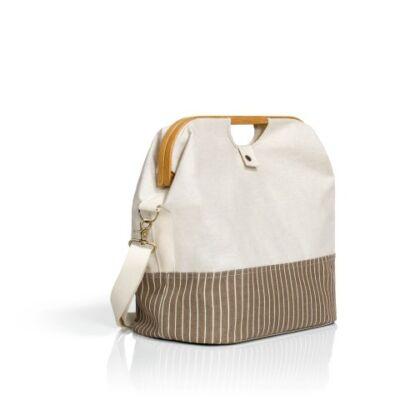 Prym kézimunka utazó táska - textil bambusszal - natúr