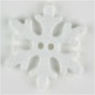 Dill gomb - hópehely 34 mm