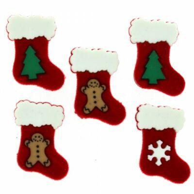 Dress it up - Karácsony - Mikulás zoknik
