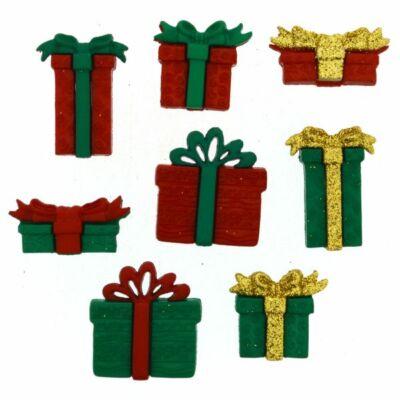 Dress it up - Karácsony - Csillogó ajándékdobozok