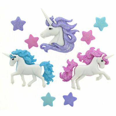 Dress It Up dekorgomb csomag - Magical Unicorns
