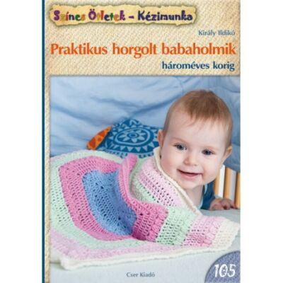 Praktikus horgolt babaholmik - színes ötletek 105