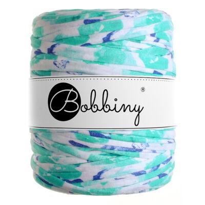 Bobbiny pólófonal - aqua virágok - MINI
