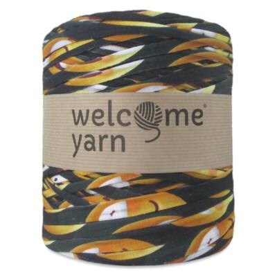 WelcomeYarn pólófonal - Barna-sárga mintás