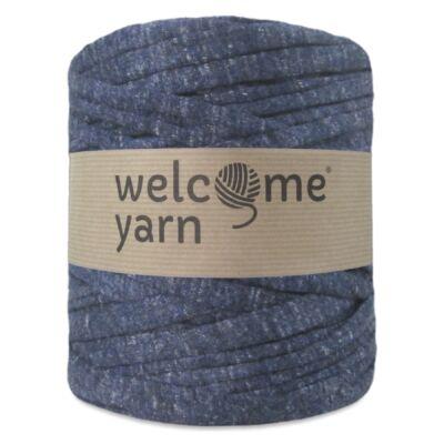 WelcomeYarn pólófonal - Sötét kék márványos