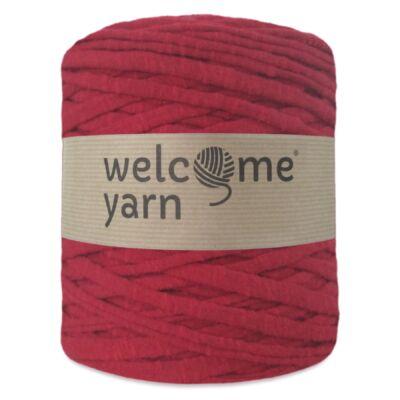 WelcomeYarn pólófonal - Piros márványos