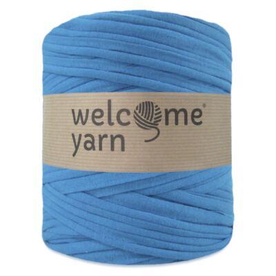 WelcomeYarn pólófonal - Türkisz kék
