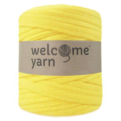Welcomeyarn pólófonal - sárga