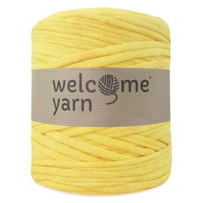 Welcomeyarn pólófonal - sárga árnyalatos