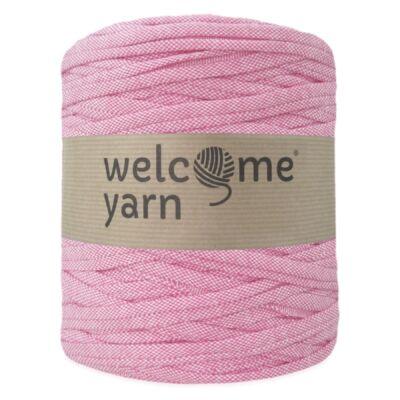 Welcomeyarn pólófonal - pink farmer
