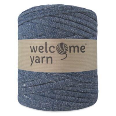 WelcomeYarn pólófonal - kék farmer