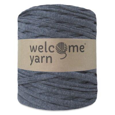 WelcomeYarn pólófonal - szürkés kék
