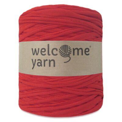 WelcomeYarn pólófonal - piros