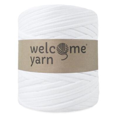 WelcomeYarn pólófonal - fehér