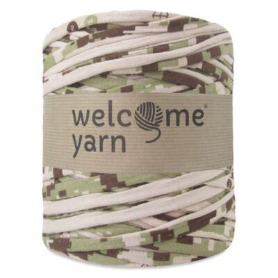 WelcomeYarn pólófonal - világos terepszín