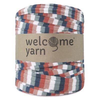 WelcomeYarn pólófonal - színes csíkok-pasztel