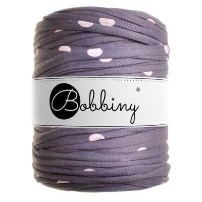 Bobbiny pólófonal - pasztel lila pöttyök