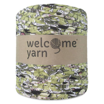 WelcomeYarn pólófonal - Zöld és fekete dzsungel