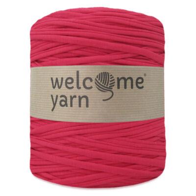 WelcomeYarn pólófonal - Halvány piros