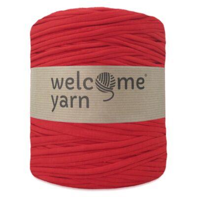 WelcomeYarn pólófonal - Közép piros