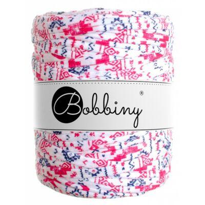 Bobbiny pólófonal - Skandi Style pink-fehér