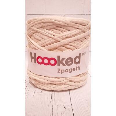 Zpagetti pólófonal -  halvány bézs fényes csíkos