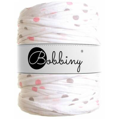Bobbiny pólófonal- Krém pöttyös