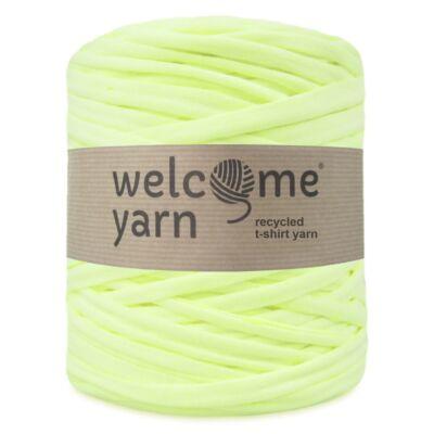 WelcomeYarn pólófonal - Neon sárga