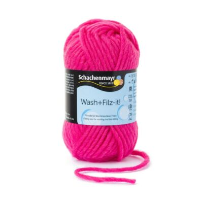 Wash and Filz it - pink