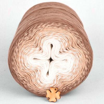 Cotton Cake pamut színátmenetes tortafonal - 318