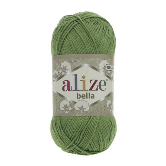 Alize Bella 100 - Fűzöld