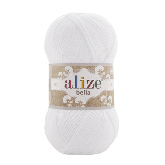 Alize Bella 100 - Hófehér