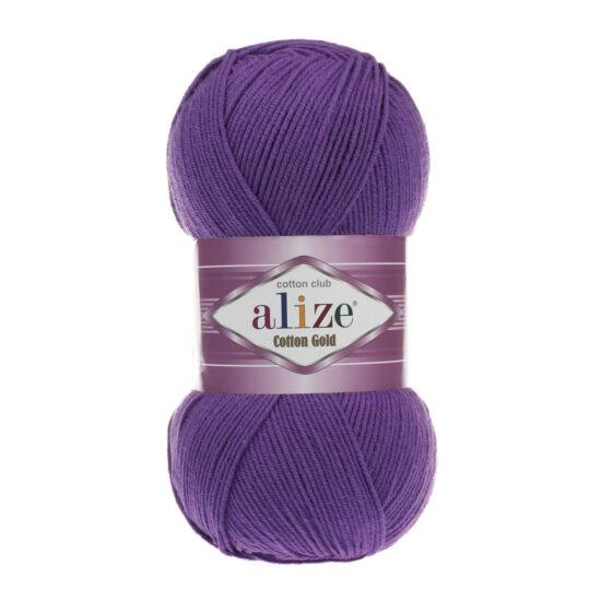 Alize Cotton Gold - SÖTÉTLILA