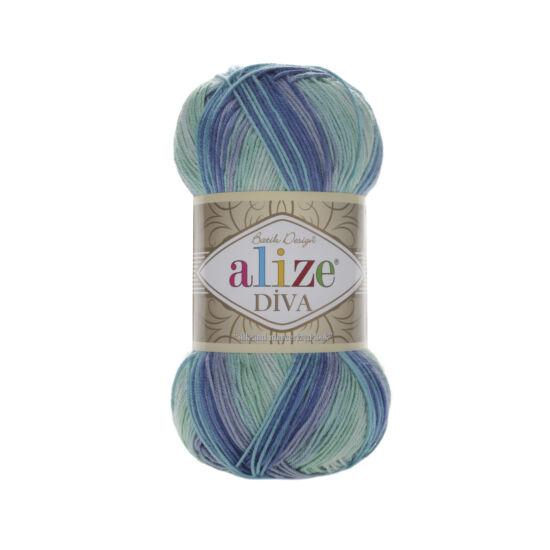Alize Diva Batik - aqua árnyalatok