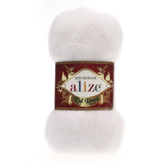 Alize Kid Royal moherfonal - FEHÉR