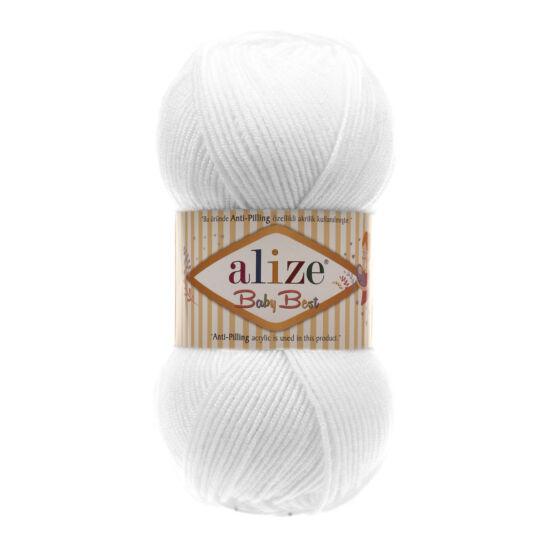 Alize Baby Best - FEHÉR