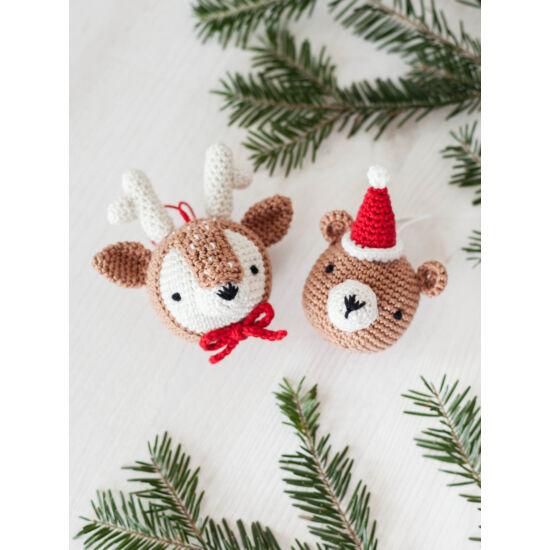 Anchor amigurumi szett - KARÁCSONY - Reindeer & Teddy