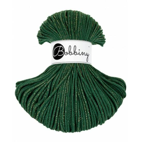 Bobbiny_zsinórfonal_5mm_pine_green_gold