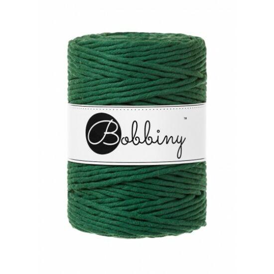 Bobbiny_makramé_fonal_5 mm_pine_green