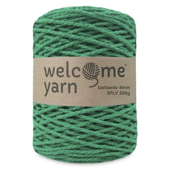 WelcomeYarn spárgafonal XL 3 ply - ZÖLD