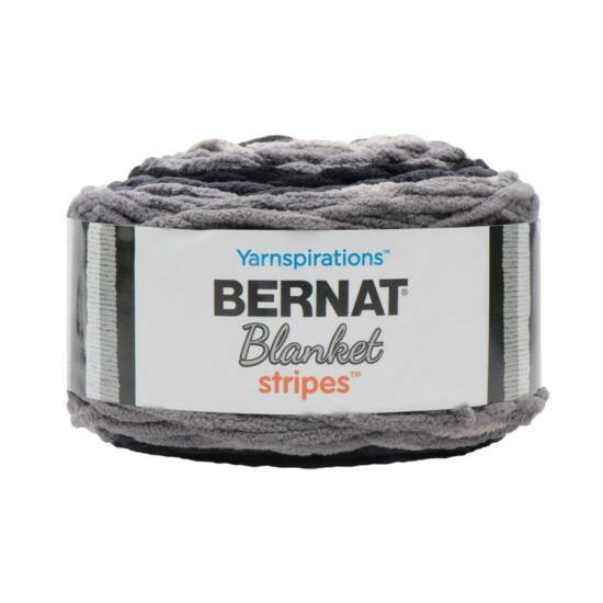 Bernat Blanket Stripes - Graphite