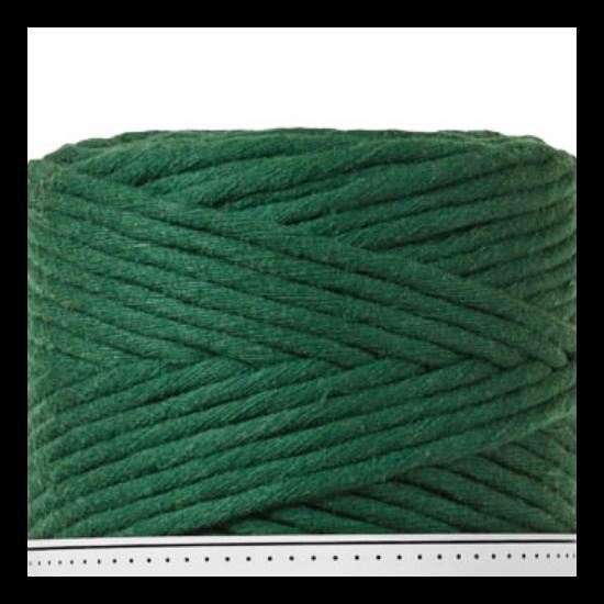 Bobbiny_makraméfonal_1,5 mm_10 m_pine_green
