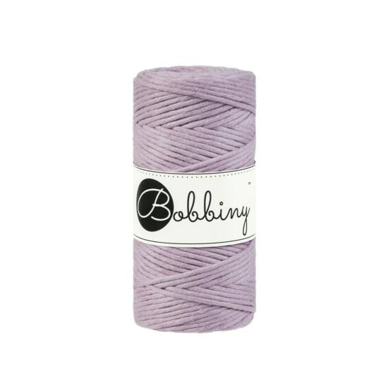 Bobbiny makramé fonal 3 mm - Dusty Pink