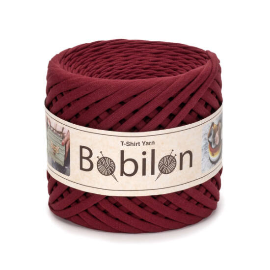Bobilon Premium pólófonal 5-7 mm - Burgundy