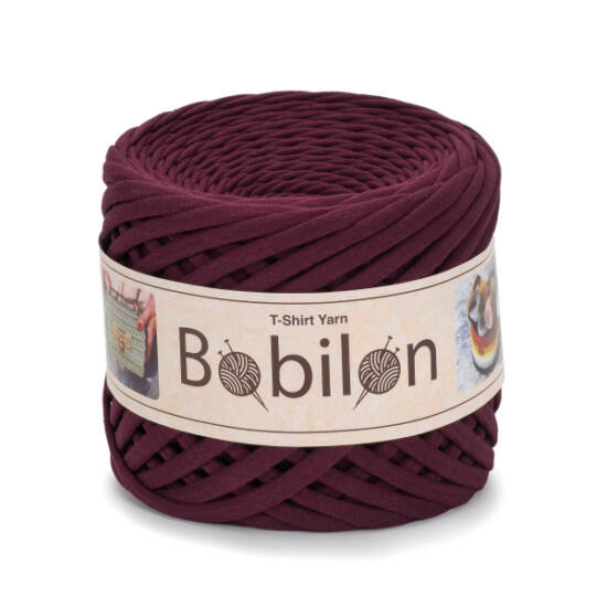 Bobilon Premium pólófonal 5-7 mm - Marsala