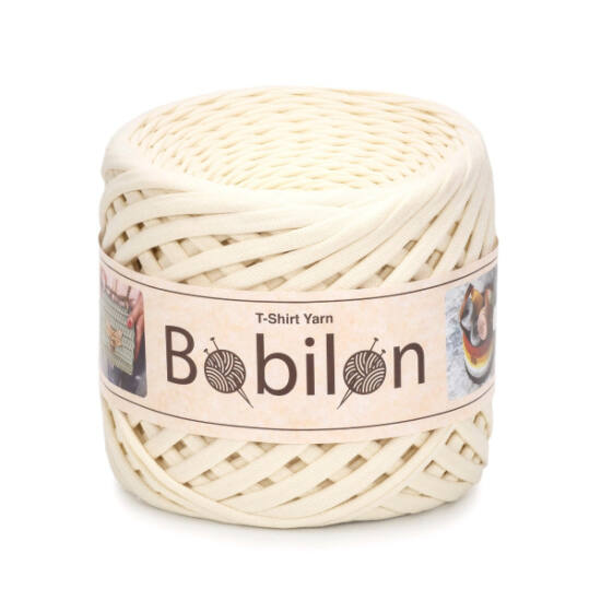 Bobilon Premium pólófonal 5-7 mm - Vanilla